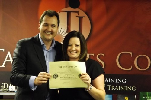 Hypnosis Training Certificate image by NLP Coaching Australia